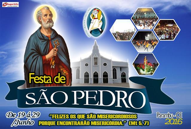 Paróquia de Parambu define programação para a Festa de São Pedro 2016