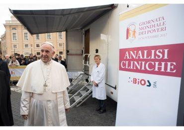 Domingo, 19 de novembro: Dia Mundial dos Pobres com o Papa Francisco