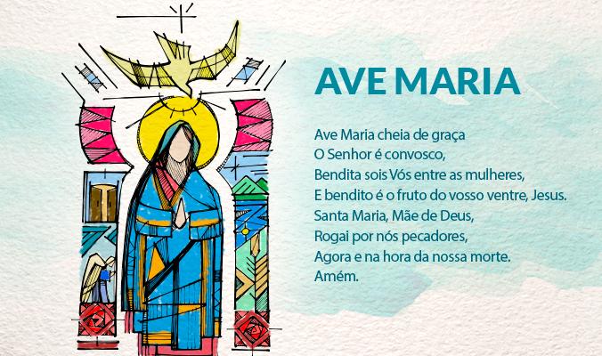 Como surgiu a oração da Ave-Maria?