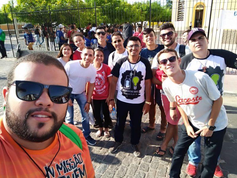 || Comitiva da Diocese de Crateús participou da I Romaria da Juventude do Ceará em Quixadá ||