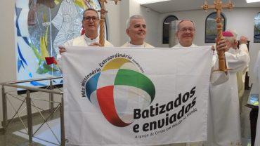 Missa com os bispos referenciais da Missão durante a 57ª Assembleia Geral dos Bispos da CNBB