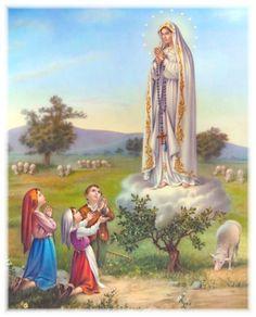 A Aparição de Nossa Senhora de Fátima