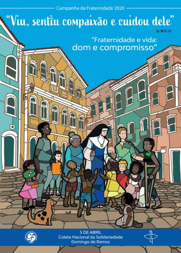 Consep aprova cartaz da Campanha da Fraternidade de 2020, inspirado em irmã Dulce