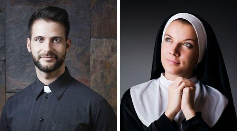 É desperdício uma pessoa bonita ser padre ou freira?